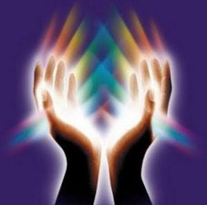 Hands with Chakras